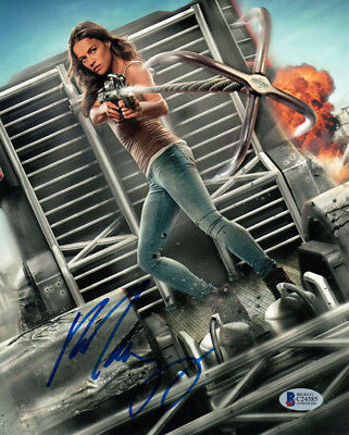 MICHELLE RODRIGUEZ SIGNED AUTOGRAPHED 8x10 PHOTO FAST AND FURIOUS BECKETT BAS