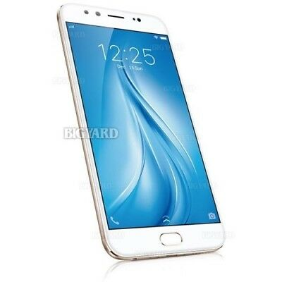 """Unlocked VIVO V5 Plus Gold 5.5"""" IPS LCD Dual Front Camera Android Mobile Phone"""