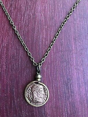 Ancient Roman BRONZE Coin Necklace Pendant Jewelry  Original Ancient Roman Coin