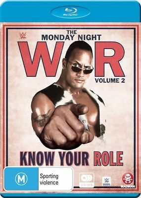 WWE - Monday Night War - Know Your Role : Vol 2 (Blu-ray, 2016, 3-Disc Set) D120