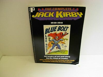 The Complete Jack Kirby 1940-1941 Blue Bolt