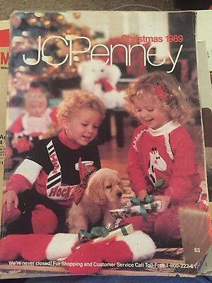 Vintage JCPENNEY Christmas Catalog 1989 Toys Nintendo Clothes TMNT Barbie