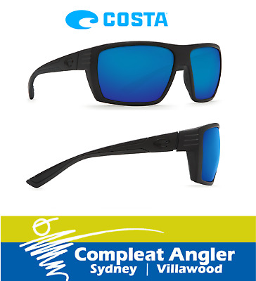 Costa Del Mar Hamlin Blackout 400G Blue Mirror Sunglasses BRAND NEW At Compleat