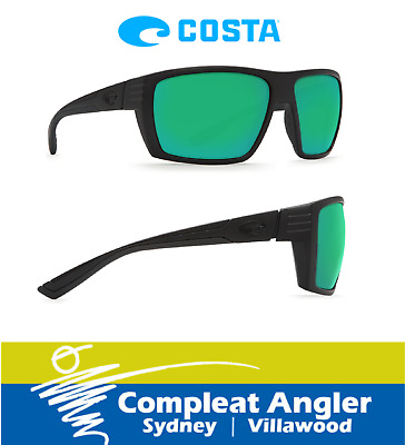 Costa Del Mar Hamlin Blackout 400G Green Mirror Sunglasses BRAND NEW At Compleat