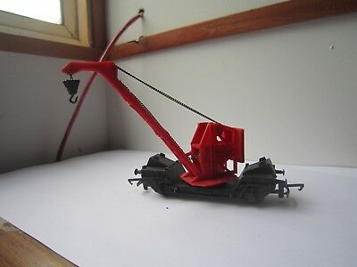 Hornby Vintage 1970s  small  railway crane  made in England.