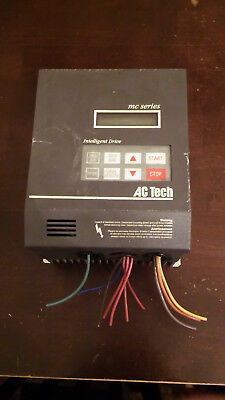 3HP 3-Phase AC Tech MC Series VFD, Inverter, Drive M3430B