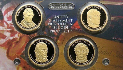 2009-S Presidential Dollar Proof Set US Mint No Box or COA