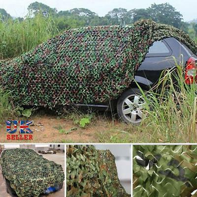 Oxford Army Camouflage Netting Hunting Shooting Camping Woodland Camo 2M x1.5M