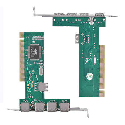 PCI-E to USB 2.0 5-Port PCI Express Expansion Card VIA Controller Adapter