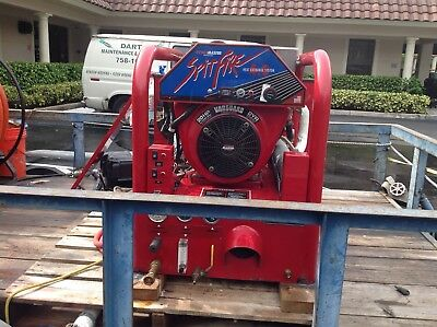 Hydramaster Spitfire 4.0  20 HP v twin Truck mount carpet  Cleaner. 455 HRS.