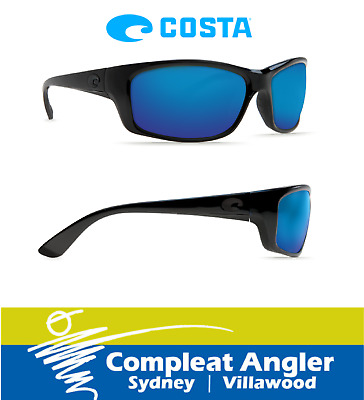 Costa Del Mar Jose Blackout 580P Blue Mirror Sunglasses BRAND NEW At Compleat An