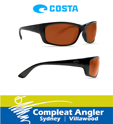 Costa Del Mar Jose Blackout 580G Copper Lens Sunglasses BRAND NEW At Compleat An