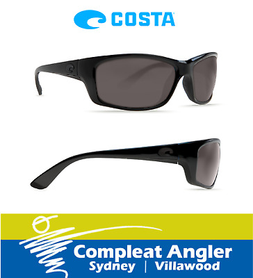 Costa Del Mar Jose Blackout 580G Gray Lens Sunglasses BRAND NEW At Compleat Angl