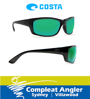 Costa Del Mar Jose Blackout 580G Green Mirror Sunglasses BRAND NEW At Compleat A