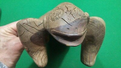 Taino Cerimonial Wood Duho or Seat - Age unknown but old