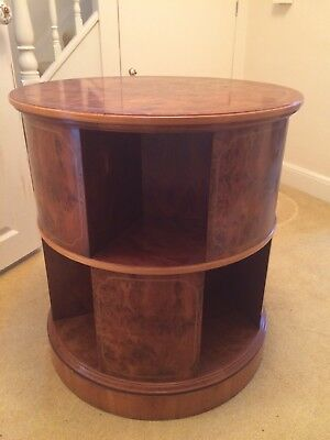 Titchmarsh And Goodwin Yew Revolving Bookcase