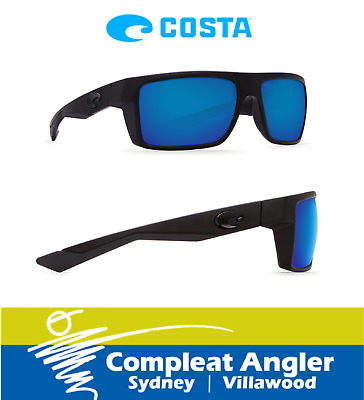 Costa Del Mar Motu Blackout 580G Blue Mirror Sunglasses BRAND NEW At Compleat An