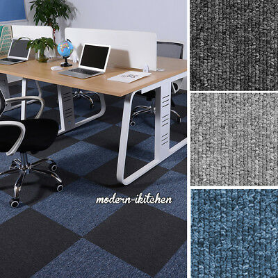 50*50cm 5m2 Quality Office Flooring Cover 20 Carpet Tile Heavy Duty Hard Wearing