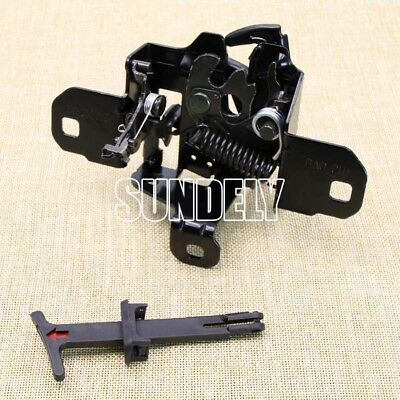NEW Bonnet Hood Latch Lock Catch+Release Handle Lever For1998-2006 VW Golf Jetta
