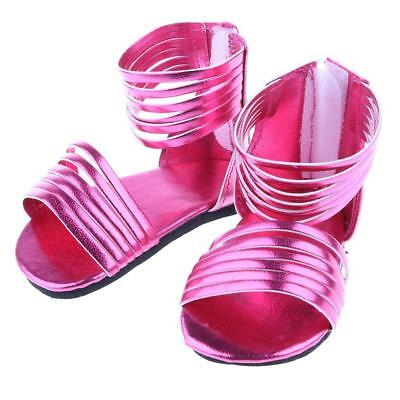 """Dolls Rosy Sandals for 18"""" American Girl Doll Summer Clothes Dress Wear Accs"""