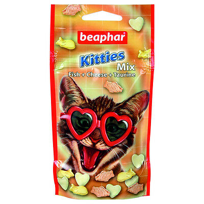 Beaphar CHATONS onglets mélange, Snack pour chats, NEUF