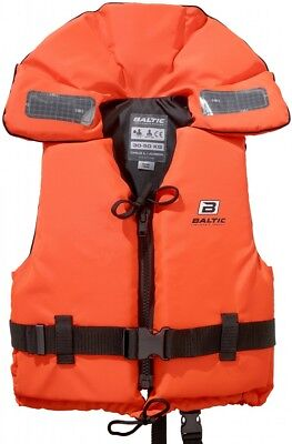 Baltic 100N Solids LIFE JACKET LIFEJACKET ( mod. 1240) WITH REFLECTOR TAPE