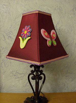 Girl Flower and Butterfly Lamp Shade