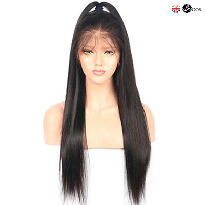 Hot Fashion Women Ladies Long Wavy Full Wig Lace Front Synthetic Wigs Hairs UK