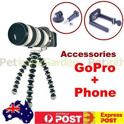 Large Flexible Octopus Tripod Holder For DSLR Camera Phone GoPro Universal Fit