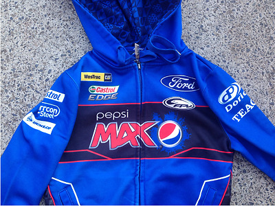 FORD pepsi max FPV fully sponsored supercars jacket  - AS NEW never worn