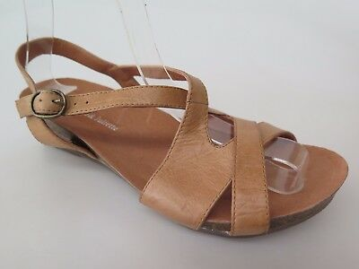 Django & Juliette - new ladies leather sandal size 37 #26