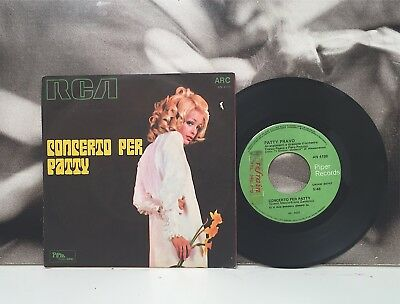 "Patty Pravo - Concerto Per Patty 7"" 45 Giri Ita 1969 Piper Records An 4188"