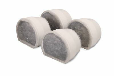 PetSafe Drinkwell Replacement Charcoal Filter (4 Pack) Premium Free Shipping New