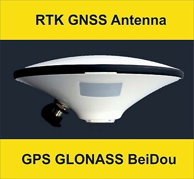 High-Precision GNSS GPS GLONASS BeiDou RTK CORS survey machine control antenna
