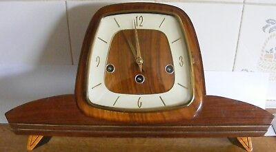 Vintage Bentima Fhs Westminster Clock ( Fully Working.)
