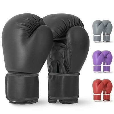 BOXING GLOVES Sparring Mma Punch Bag Training Mitts Rex Leather