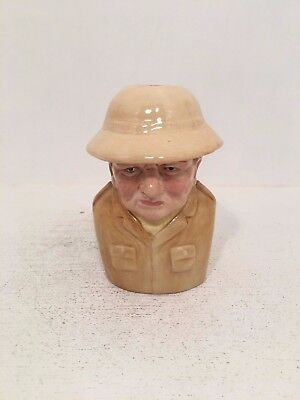Manor Collectables Political Character Jugs Winston Churchill Toby Jug 264/1500