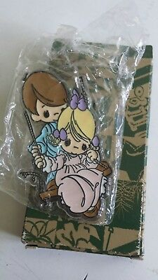 Precious Moments 1992 children swing pushing Kitchen Fridge Magnet New