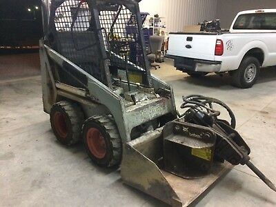 BOBCAT 440B 440 SKIDSTEER WHEEL LOADER Skid Bob Cat Mini Compact Will Ship