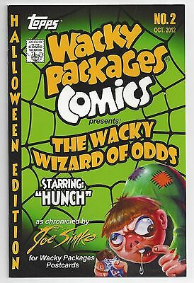 2012 Wacky Packages COMICS BOOK #2 HALLOWEEN Limited Edition unsigned no #