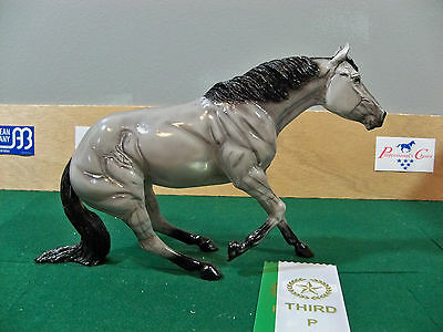 Black Horse Ranch Model Horse Resin - Grulla Reigner - Mint with Original Box