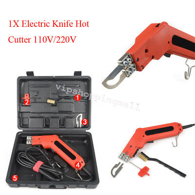 Professional Electric Hand Held Hot Heating Knife Cutter Tool For Fabric Cutting