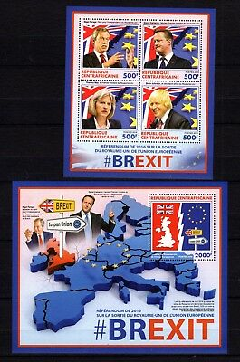 Central Africa 2016 Brexit MNH -(W)