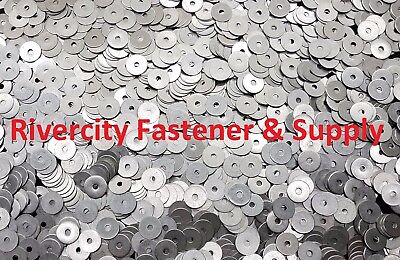 "(100) #8x3/4 Fender Washers Stainless Steel 8 x 3/4"" Large OD Washer"