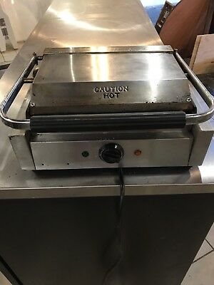 Commercial Panini Grill Sandwich Maker Press