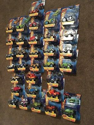 ** NEW Blaze and the Monster Machines Die Cast Trucks UK Seller Combined Postage