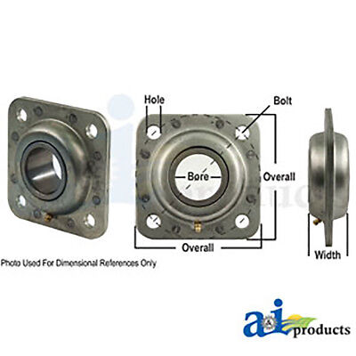 Disc Harrow Bearing / Flange Bearing, Round Bore fits in IHC Disc 37 46 48 60 61