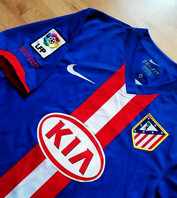 Shirt Jersey Camiseta Atletico Madrid 2010 2011 Away Very Good Cond Size S
