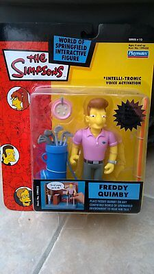 The Simpsons Action Figure World Of Simpsons Wos Freddy Quimby Bnib