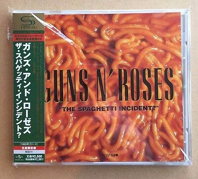 Guns N Roses - The Spaghetti Incident- Shm Cd Japanese W / Obi